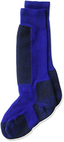 Thorlos Kids KS Snow Padded Over the Calf Sock, Blue, Small ()