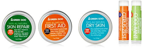 Green Goo All Natural Travel Pack, Everyday Care