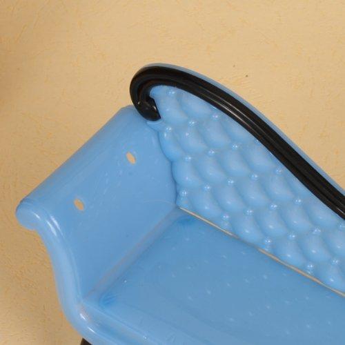 Xiton 1PC casa de mu/ñecas en Miniatura Muebles calesa sof/á-Azul o p/úrpura Color al Azar