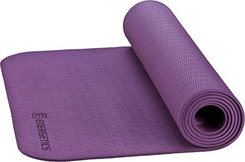 Intersport Energetics - Esterilla de Yoga PVC 4 mm - Purple ...