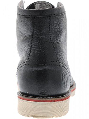 Negro a de de de prueba Jesse de agua Botas James seguridad hombre Botas Zapatos Ropa para cuero trabajo 1ROwTx8R