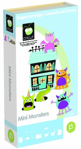 Cricut Cartridge Scrapbooking Mini Monster