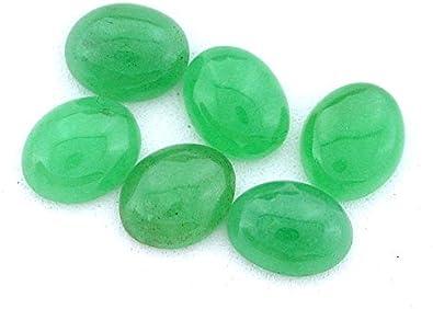 FOUR 12mm x 10mm 12x10 Oval Red Jade Cab Cabochon Gem Stone Gemstone RJC4