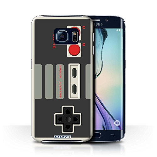 STUFF4 Phone Case / Cover for Samsung Galaxy S6 Edge / Nintendo Classic Design / Games Console Collection