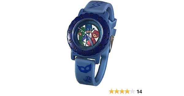 PJ Masks - Reloj digital con luz para niños, edición de coleccionista