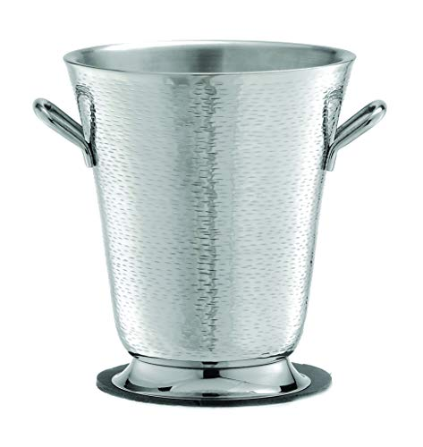 TableCraft RWB119 Remington Collection Stainless Steel Double Wall Bucket, 8.75-Inch by 9.75-Inch