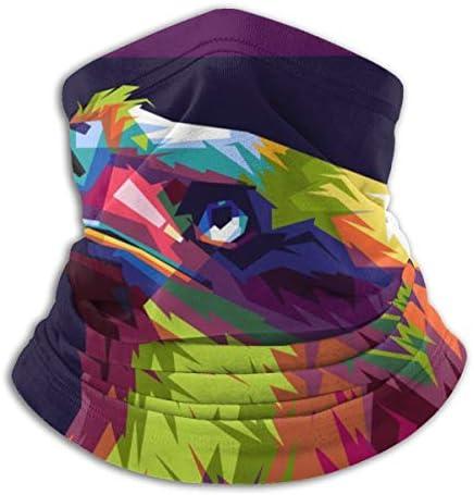 Colorful Eagle ネックカバー 紫外線対策 バンダナ 息苦しくない フェイスガード 多機能 マジックスカーフ