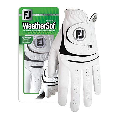 New Improved Footjoy WeatherSof Women's Golf Gloves - Choose Your Size/Hand (Small 2 Pack, Worn on Right Hand) from FootJoy Gloves
