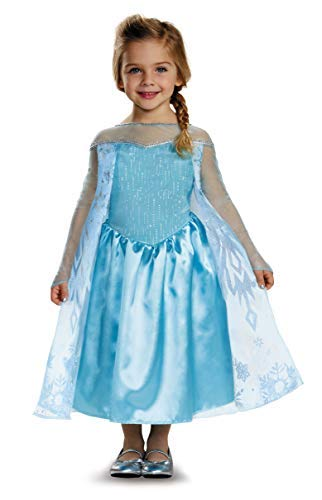 Disguise Disney Elsa Deluxe Costume with Felt Headband -