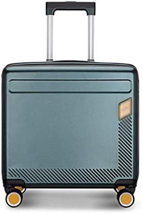BXDYA トラベルスーツケーストロリー、インタフェースユニバーサルホイール男性と女性の荷物を充電外部USB (Color : Green)