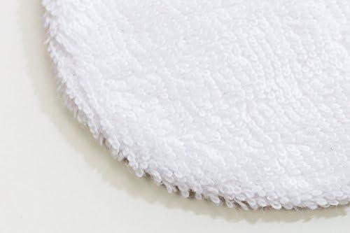 Discos desmaquillantes reutilizables de tela para limpieza facial ...