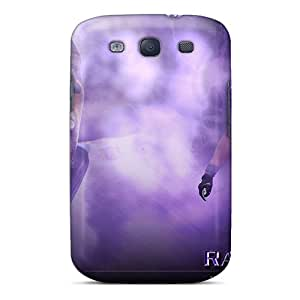 Samsung Galaxy S3 Zjb10024tiAr Customized Fashion Baltimore Ravens Pattern Protective Cell-phone Hard Covers -NataliaKrause