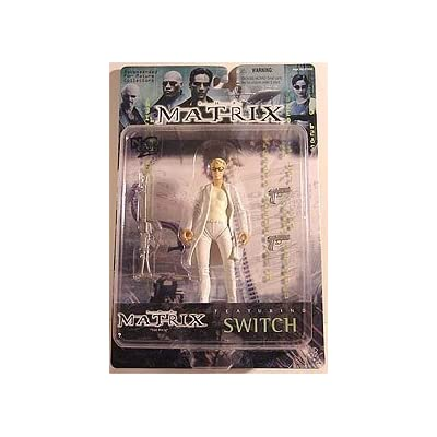 """The Matrix - Switch 6"""" Action Figure: Toys & Games"""
