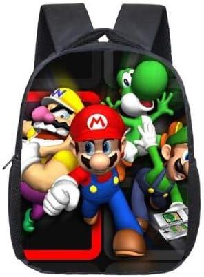 Rtmn Sac à Dos Pour Enfants Super Mario Bros Nursery School