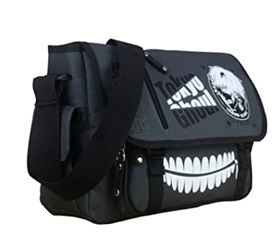 Maggift Anime Tokyo Ghoul Canvas Cosplay Fashion Messenger Bag