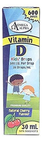 OmegaAlpha Kids Drops Vitamin D 30ml(600 Drops)