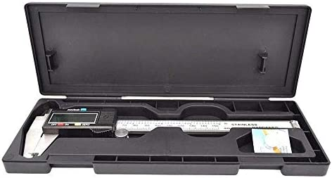 MTCWD Caliper Vernier Caliper Vernier Caliper Digital Caliper Gauge Stainless Steel Vernier Caliper 150Mm With Box