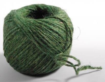 Green Jute Twine - Ball