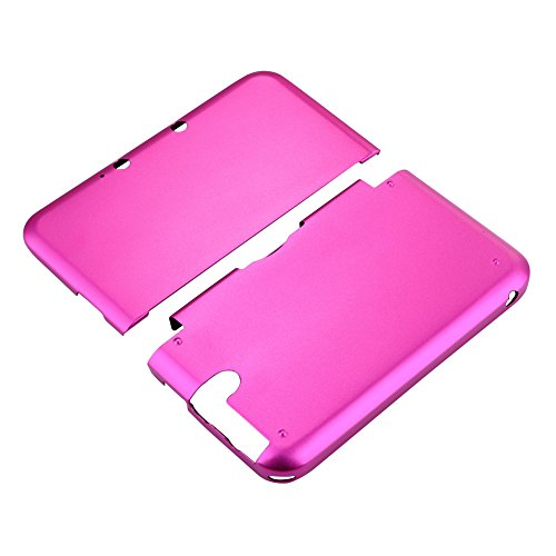 Aluminium Hard Shell Case Skin Cover For Nintendo 3DS XL LL (Red) - 8