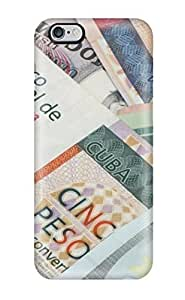aqiloe diy [wTTICoV2783bhBoV]premium Phone Case For Iphone 6 Plus/ Around The World Money Tpu Case Cover