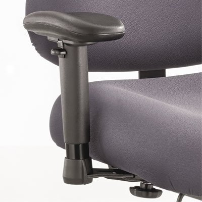 SAF3591BL - Height/Width-Adjustable T-Pad Arms for Optimus Big amp; Tall Chairs