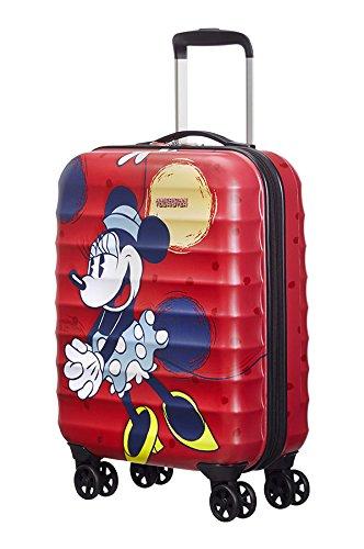 American Tourister Luggage Set black Minnie Mouse Matt S M L
