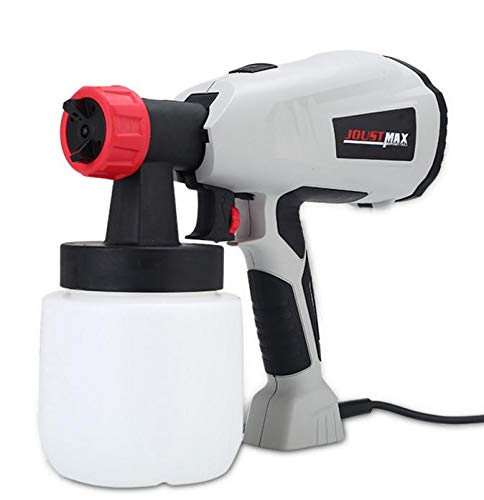 - Hellofishly Paint Sprayer,Electric Paint Spray Gun Adjustable Removable High Pressure Electric Spray Gun, Suitable for Large Area Continuous Spraying