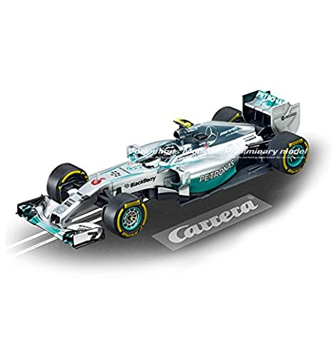 Carrera Evolution - Formula Run (Mercedes-Benz F1 W05 + Ferrari F14 T) 4.5 m, escala 1:32 (20025213): Amazon.es: Juguetes y juegos