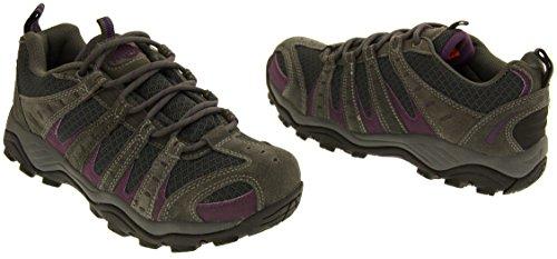 Accidentato Escursioni Da E Escursionismo Territory Northwest Donna Viola Grigio Terreno Leather Scarpe OR7ngq