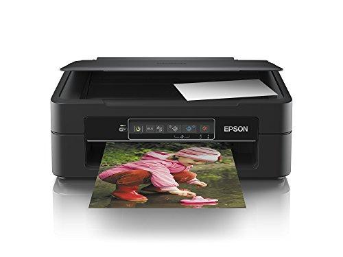 Epson Expression Home XP-245 3-in-1 Tintenstrahl-Multifunktionsgerät (Drucker, Scanner, Kopierer, WiFi, Einzelpatronen) schwarz