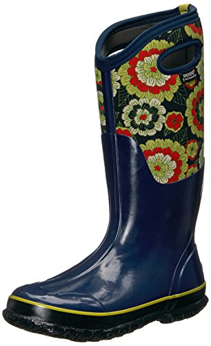 Bogs Mujeres Classic Pansies Snow Bota Royal Multi