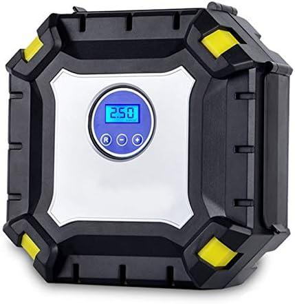 YHCHONGQENB Digital Portátil neumático del Coche 12V del compresor de Aire de la Bomba 60 PSI automático del compresor de Aire para el Coche Bicicletas Motocicletas