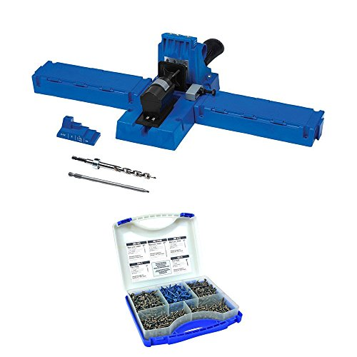 Kreg K5 Pocket-Hole Jig With Screw Kit (Kreg Pocket Hole Cutter)