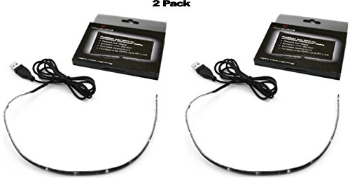 Antec Bias Lighting for HDTV with 51.1-Inch Cable (Reduce eye fatigue and increase image clarity) (Pack of 2)