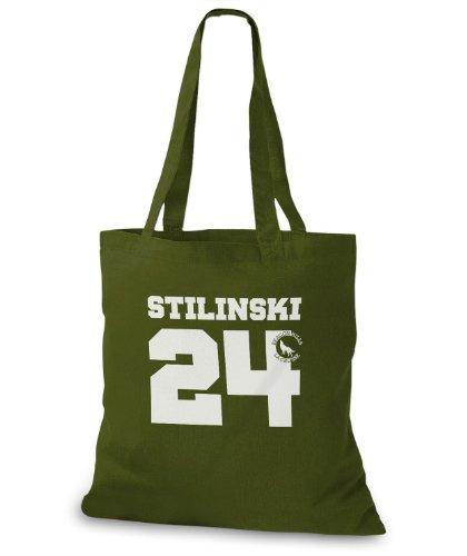 StyloBags Jutebeutel / Tasche Stilinski 24 v3 Khaki PPPbMlj