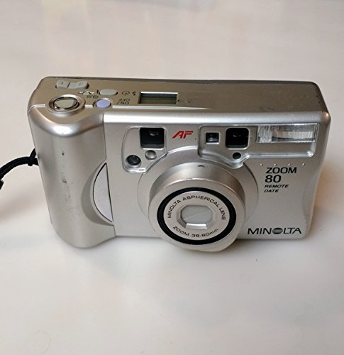 Minolta Zoom 80 Quartz Date 35mm Film Camera