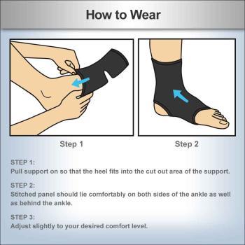 minor sprains,strains and arthritis, ACE Brand Elasto-Preene AnkleSupport, Ace Support