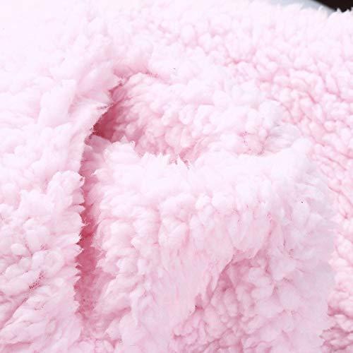 Cebbay de Las Abrigo Tejido Cárdigan de Chaqueta cálido de Mujer Abrigo Capucha Mujeres liquidación de de Abrigo nbsp;Venta Felpa Rosado con Ropa qgv45xwqr