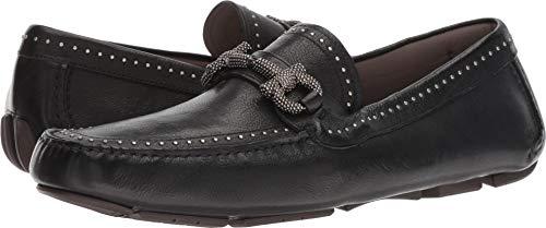- Salvatore Ferragamo Men's Parigi Studded Driving Loafer Nero 9 E US E - Wide