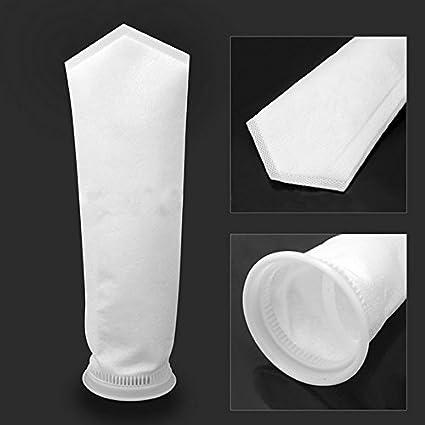 "4/"" Filter Socks 4/""x8/"" 200 Micron Felt Aquarium Reef Wet Dry Sump Volume Discount"