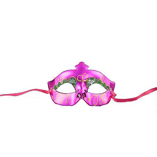 Halloween Kids Masquerade Masks Mardi Gras Costume with Butterfly Performance Venetian Makeup -