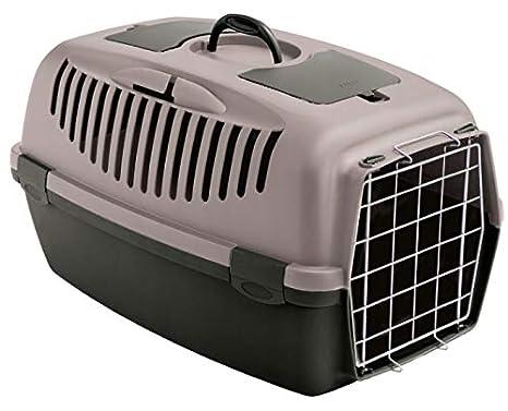 Stefanplast Hummelladen Caja de Transporte Gatos Box Box Perros y Gatos Caja de Transporte Auto Caja Gulliver 3 - puderrosa: Amazon.es: Productos para ...