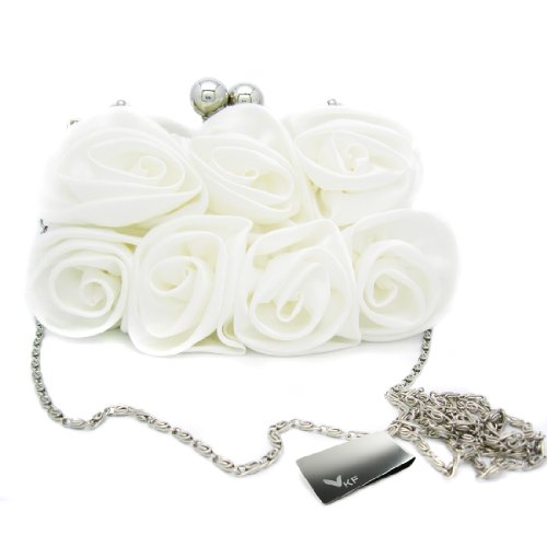 White Satin Purse - 5