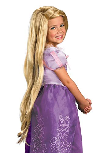 Girl's Disney Rapunzel Tangled Wig Child Halloween Costume Accessory