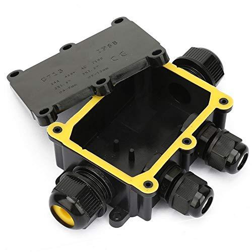 WolfGo IP68防水ジャンクションボックス電気エンクロージャケーブル端子台(四方)を接続します