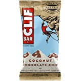 CLIF BAR Coconut Chocolate Chip Energy Bar - Display Box of 12 x 68g, 816 g