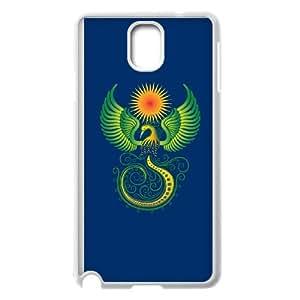 Phoenix Ornament Samsung Galaxy Note 3 Cell Phone Case White JU0009551
