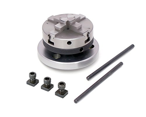 65 mm- 4 Jaws Self Centering Chuck with Back Plate & T-nuts for Milling