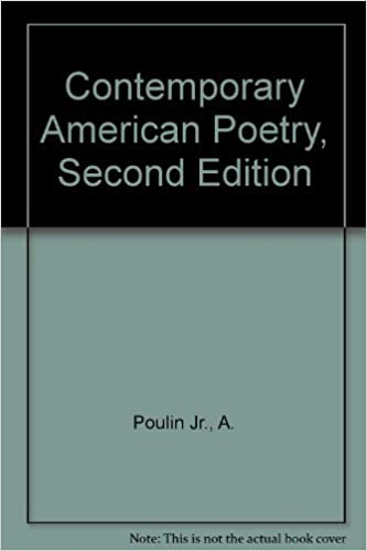 Contemporary American Poetry Second Edition A Poulin Jr Amazon