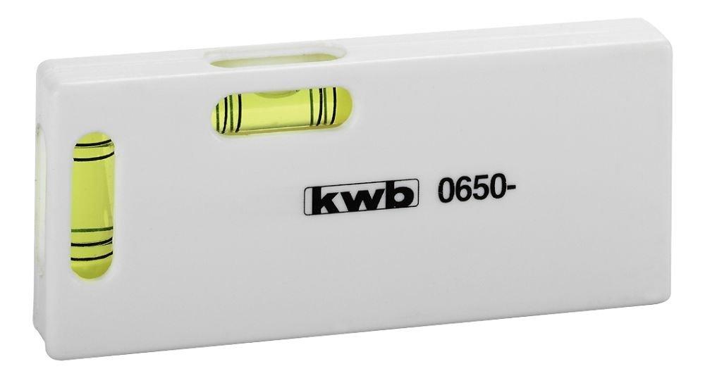 KWB Mini niveau à bulle 100mm, 0650–10 0650-10